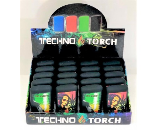Single Techno Torch w/ Cap (1Q=20pcs) 1pc=$1.50