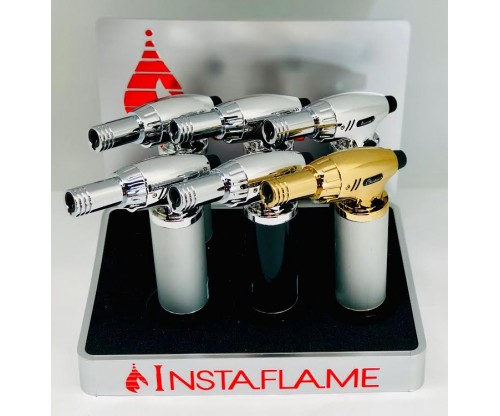 InstaFlame Silver Single Flame (1Q=6pcs) 1pc=$6.00