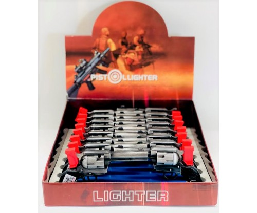 Pistol Lighter (1Q=16pcs) 1pc=$2.00