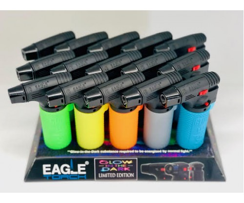 Glow In The Dark Single Eagle Torch (1Q=15pcs)  1pc=$2.00